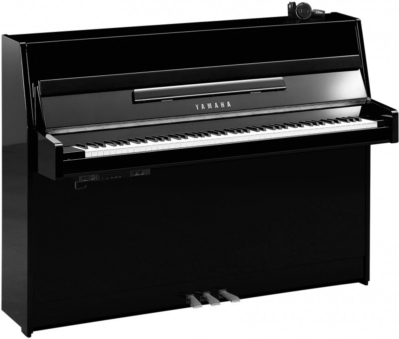 YAMAHA B1 SC2 PEC Silent Klavier Chrom Beschläge