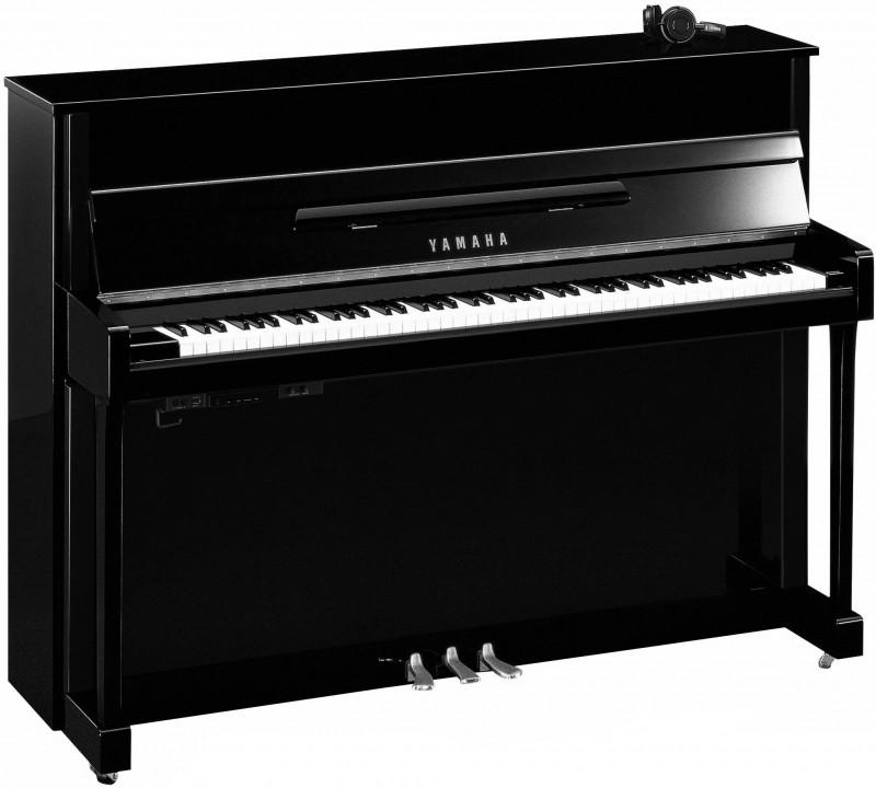 YAMAHA B2E SC2 PEC Silent Klavier Chrom Beschläge