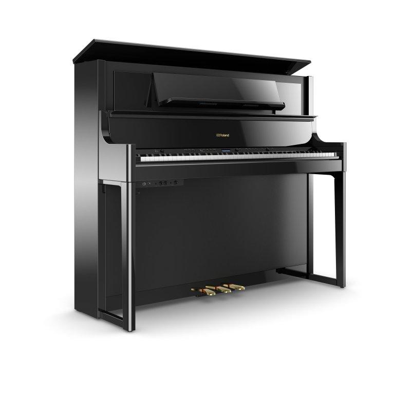 ROLAND LX-708 PE Digitalpiano Schwarz poliert