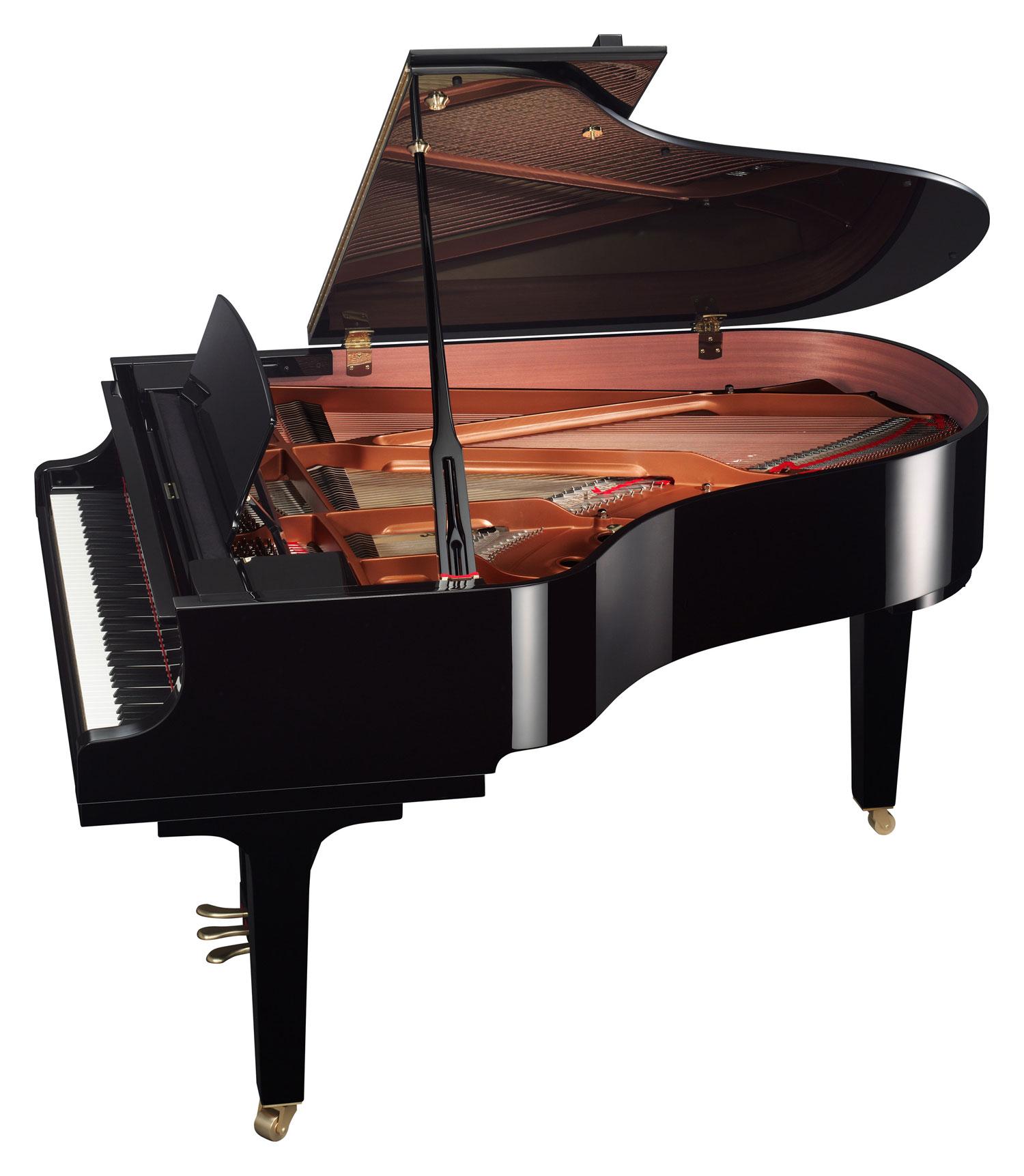 Yamaha Satin Ebony Baby Grand Piano