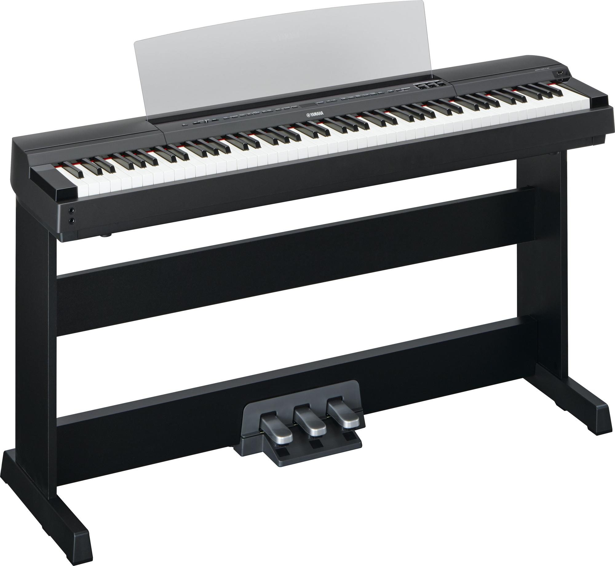 yamaha p 255b d piano stativ set ii yamaha stage pianos