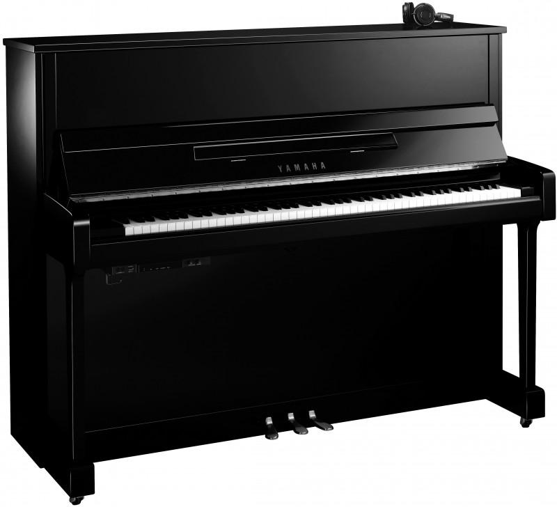 YAMAHA B3E SC2 PEC Silent Klavier Chrom Beschläge