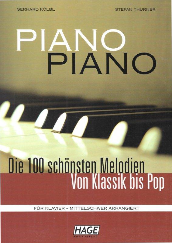 HAGE Piano Piano Band 1 mittelschwer